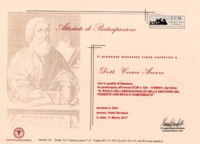 1 Congress Certificates